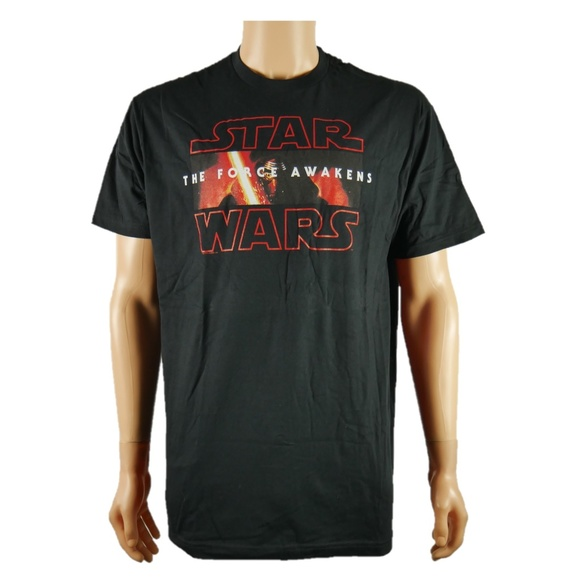 Kleidung & Accessoires Men's T-shirt-GALACTIC EMPIRE-STAR WARS Tee-STORM TROOPERS-The Force Awakens-Red